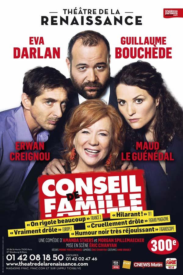 """Affiche """"Conseil de Famille"""""""