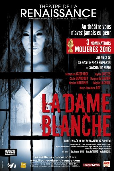 Affiche La Dame Blanche