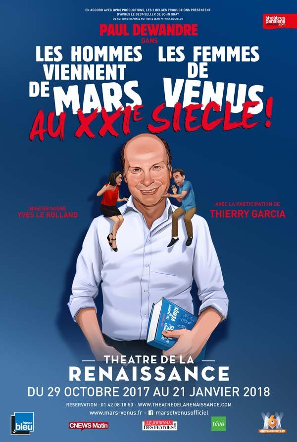 """Affiche """"Les Hommes viennent de Mars, les Femmes de Vénus : Best of"""""""