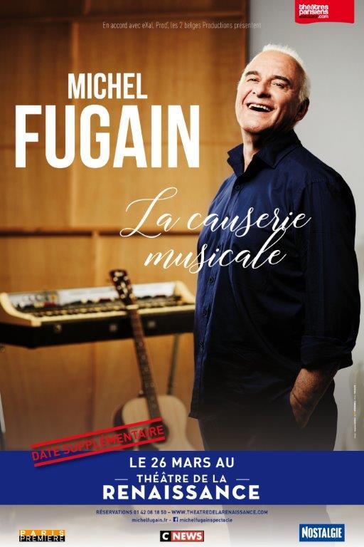 Affiche Michel Fugain