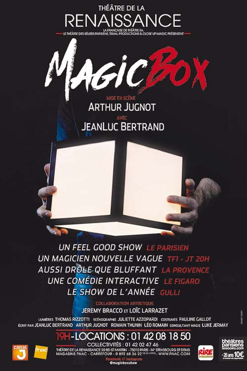 "Affiche ""Magic Box"""